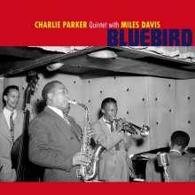 Miles Davis & Charlie Parker: Bluebird (+2 Bonus Tracks) (180g) (Limited Edition) (Blue Vinyl), LP