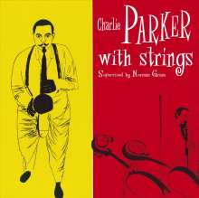 Charlie Parker (1920-1955): Charlie Parker With Strings (180g) (Limited Edition) (Blue Vinyl), LP