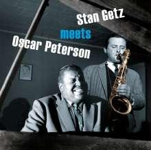 Stan Getz & Oscar Peterson: Stan Getz Meets Oscar Peterson (180g) (Limited Edition) (Solid Orange Virgin-Vinyl), LP