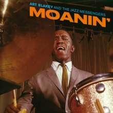 Art Blakey (1919-1990): Moanin' (180g) (Limited Edition) (Solid Red Virgin-Vinyl), LP