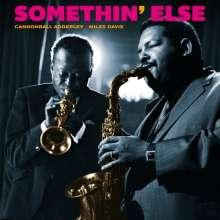 Miles Davis & Cannonball Adderley: Somethin' Else (180g) (Limited Edition) (Solid Blue Virgin-Vinyl), LP