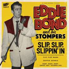 """Eddie Bond & His Stompers: Slip, Slip, Slippin' In EP, Single 7"""""""