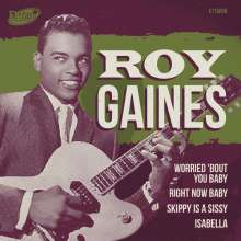 """Roy Gaines: Worried 'Bout You Baby EP, Single 7"""""""