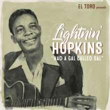 "Sam Lightnin' Hopkins: Had A Gal Called Sal EP, Single 7"""