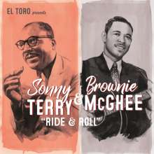 Sonny Terry & Brownie McGhee: Ride & Roll EP, Single 7""