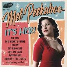 Mel Peekaboo: It's Her, CD