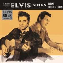 """Elvis Presley (1935-1977): Sings Don Robertson (Colored Vinyl), Single 7"""""""