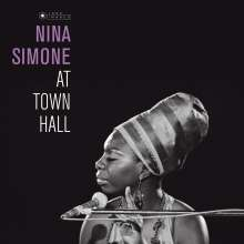 Nina Simone (1933-2003): At Town Hall (180g) (Limited Edition), LP
