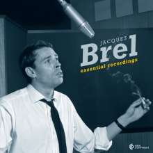 Jacques Brel (1929-1978): Essential Recordings 1954-1962 (180g) (Limited Edition), LP