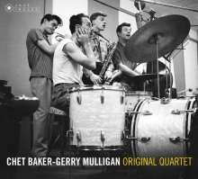 Chet Baker (1929-1988): Original Quartet (Limited-Edition) (Jazz Images), 2 CDs