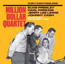 Presley, Elvis / Perkins, Carl / Lewis, Jerry Lee/: The Million Dollar Quartet-The Complete Session, CD