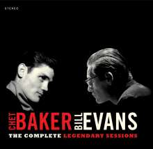 Chet Baker & Bill Evans: The Complete Legendary Sessions (Limited-Edition), CD