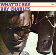 Ray Charles: What I'd Say+Hallelujah I Love Her So!+2 Bonus, CD