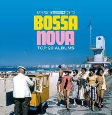 Easy Introduction To Bossa Nova: Top 20 Albums, 9 CDs