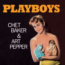 Chet Baker & Art Pepper: Playboys +7 (Limited-Editiion), CD