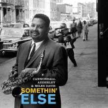Miles Davis & Cannonball Adderley: Somethin' Else (180g) (Limited Edition) (William Claxton Collection) (+Bonustrack), LP