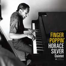 Horace Silver (1933-2014): Finger Poppin (180g) (Limited Deluxe Edition) (William Claxton Collection), LP