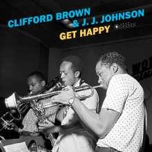 Clifford Brown & J.J. Johnson: Get Happy (180g) (Limited-Edition) (Francis Wolff Collection) (+2 Bonus Tracks), LP