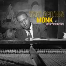 Thelonious Monk (1917-1982): Misterioso (180g) (Limited-Edition) (Francis Wolff Collection) (+2 Bonus Tracks), LP