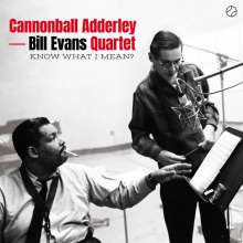 Julian 'Cannonball' Adderley & Bill Evans: Know What I Mean? (180g) (Limited-Edition) (+1 Bonustrack), LP