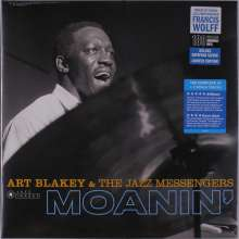 Art Blakey (1919-1990): Moanin' (180g) (Limited Edition) (Francis Wolff Collection) +2 Bonus Tracks, LP