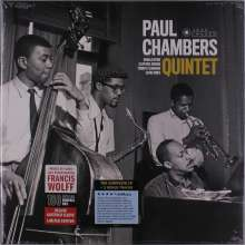 Paul Chambers (1935-1969): Paul Chambers Quintet (180g) (Limited Edition) (Francis Wolff Collection) +2 Bonus Tracks, LP