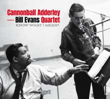 Julian 'Cannonball' Adderley & Bill Evans: Know What I Mean? +6 Bonus Tracks (Limited-Edition), CD
