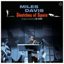 Miles Davis (1926-1991): Sketches Of Spain (+ 1 Bonustrack) (180g) (Limited Edition), LP