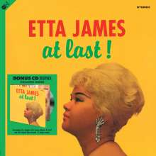 Etta James: At Last! (180g), 1 LP und 1 CD
