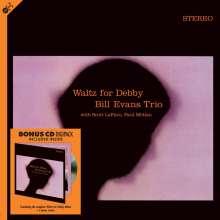 Bill Evans (Piano) (1929-1980): Waltz For Debby (180g), 1 LP und 1 CD