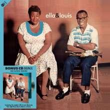 Louis Armstrong & Ella Fitzgerald: Ella & Louis (180g), 1 LP und 1 CD