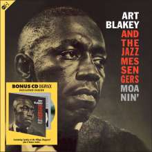 Art Blakey (1919-1990): Moanin' (180g), 1 LP und 1 CD