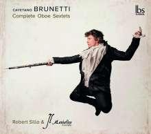 Gaetano Brunetti (1744-1798): Oboensextette Nr.1-6, 2 CDs