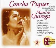 Concha Piquer: ..Canta Los Grandes Exi, 3 CDs