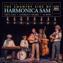 """Harmonica Sam: True Lies/Lookout Heart, Single 7"""""""