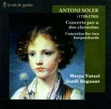 Antonio Soler (1729-1783): Konzerte für 2 Orgeln Nr.1-6, CD