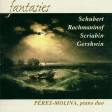 Klavierduo Perez-Molina - Fantasies, CD