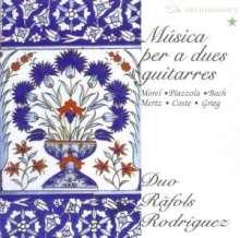 Edvard Grieg (1843-1907): Aus Holbergs Zeit-Suite op.40 für 2 Gitarren, CD