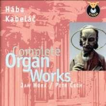 Miloslav Kabelac (1908-1979): Orgelwerke, CD
