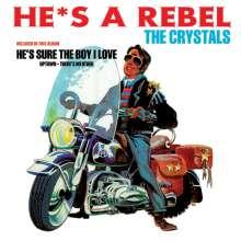 The Crystals: He's A Rebel (180g) +2 Bonustracks, LP