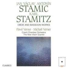 Johann Stamitz (1717-1757): Werke für Oboe und Fagott, CD