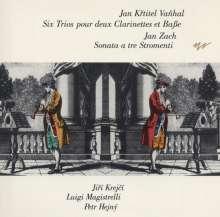 Johann Baptist (Jan Krtitel) Vanhal (1739-1813): 6 Triosonaten für 2 Klarinetten & BC, CD