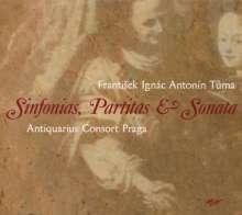 Frantisek Tuma (1704-1774): Partite,Sonate e Sinfonie, CD