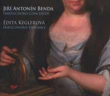 Georg Anton Benda (1722-1795): Cembalokonzerte, CD