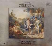 Jan Dismas Zelenka (1679-1745): Il Diamante (Serenata ZWV 177), 2 CDs