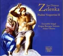 Jan Dismas Zelenka (1679-1745): Psalmi Verspertini II, CD