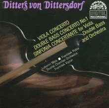 Karl Ditters von Dittersdorf (1739-1799): Kontrabaßkonzert Nr.1, CD