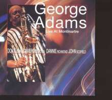 George Adams (1940-1992): Live At Montmartre, CD