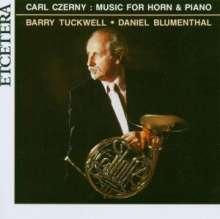 Carl Czerny (1791-1857): 3 Fantasien für Horn & Klavier op.339, CD