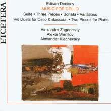 Edison Denisov (1929-1996): Schubert-Variationen f.Cello & Klavier, CD